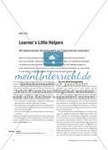 Learner's Little Helpers - Mit elektronischen Wörterbüchern das Englischlernen erleichtern Preview 1