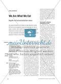 We Are What We Eat - Begriffe mit Fachwörterbüchern klären Preview 1
