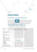 Facing Facebook - Vor- und Nachteile von sozialen Netzwerken diskutieren Preview 1