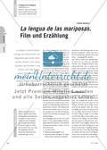 La lengua de las mariposas. Film und Erzählung Preview 1