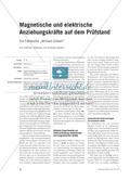"""Magnetische und elektrische Anziehungskräfte auf dem Prüfstand - Die Fallstudie """"William Gilbert"""" Preview 1"""