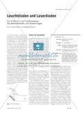 Leuchtdioden und Laserdioden - Ein Einblick in die Funktionsweise, die Besonderheiten und Anwendungen Preview 1