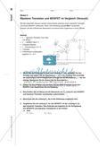 Unipolare Transistoren - Unterrichtsmodule zu ihren Eigenschaften und Anwendungen Preview 8
