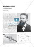 Röntgenstrahlung - Fachliche Grundlagen Preview 1