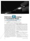 Elektrische Leitungsvorgänge in verschiedenen Medien - Didaktische und fachliche Grundlagen Preview 1