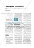 Lernhilfe oder Lernhindernis? - Modelle von Leitungsvorgängen in Stromkreisen unter der Lupe Preview 1