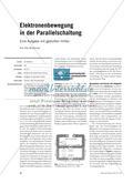 Elektronenbewegung in der Parallelschaltung - Eine Aufgabe mit gestuften Hilfen Preview 1