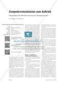 Computersimulationen zum Auftrieb - Fachdidaktischer Mehrwert dynamischer Repräsentationen Preview 1