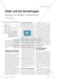 Felder und ihre Darstellungen - Einführung in den Feldbegriff in der Sekundarstufe I Preview 1