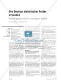 Die Struktur elektrischer Felder erkunden - Arbeitsteilige Experimente mit einer einfachen Feldsonde Preview 1