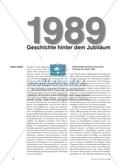 1989 - Geschichte hinter dem Jubiläum Preview 1