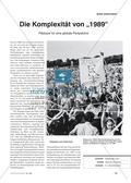 """Die Komplexität von """"1989"""" - Plädoyer für eine globale Perspektive Preview 1"""