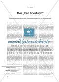 """Der """"Fall Foertsch"""" - Perspektivenübernahme und Werturteilskompetenz in der Sekundarstufe Preview 1"""