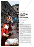 Alle Wege führen nach Rom - Antike Geschichtskultur als Unterrichtsthema Preview 1