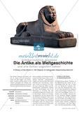 Die Antike als Weltgeschichte - A History of the World in 100 Objects im bilingualen Geschichtsunterricht Preview 1