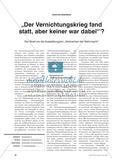 """Die Ausstellung """"Verbrechen der Wehrmacht"""" in der Diskussion Preview 1"""