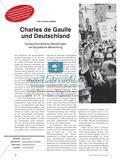 Deutsch-französische Beziehungen anhand der biografische Betrachtung Charles de Gaulle Preview 1