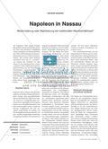 Napoleon in Nassau: Modernisierung oder Stabilisierung der traditionellen Machtverhältnisse? Preview 1