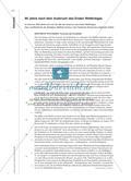 Microtraining zur Textarbeit: Kleinschrittige Dekonstruktion eines Kommentars zum Ersten Weltkrieg Preview 7