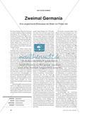Eine vergleichende Bildanalyse der Germania von Philipp Veit (1836/ 1848) Preview 1