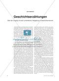 Geschichtserzählungen aus fachdidaktischer und fachwissenschaftlicher Perspektive Preview 1