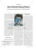 Das Attentat Georg Elsers: Vergleich der Meinung zweier Autoren Preview 1