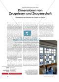 Dimensionen von Zeugnissen und Zeugenschaft: Überlebende des Holocaust als Zeugen vor Gericht Preview 1
