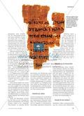 Der Ursprung von Textquellen aus der griechischen Antike Preview 2