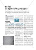 Die Haut – ein Organ mit Pflegeansprüchen: Körperpflegemittel im naturwissenschaftlichen Anfangsunterricht Preview 1