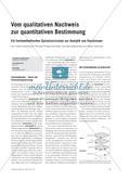 Vom qualitativen Nachweis zur quantitativen Bestimmung - Ein fachmethodisches Spiralcurriculum zur Analytik von Emulsionen Preview 1