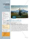 Landschaftsbilder untersuchen - Bildnerische Mittel zur Raumdarstellung erkennen Preview 1