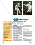 Goethe trifft Kanalarbeiter - Lebensgroße Gipsfiguren bauen Preview 1