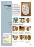 Kunst_neu, Sekundarstufe I, Körperhaft-räumliches Gestalten, Relief, Gips, Ton, Abdruck, Figur, Tonplatte, Reißverschlussverfahren