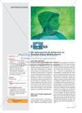 Farb(ig)-Ich - Ein Selbstporträt in Anlehnung an Picassos Blaue Periode malen Preview 1
