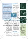 Ein Hahn aus Zeitungspapier: Collagieren in der Reißtechnik Preview 2