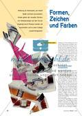 Collagieren mit geometrischen Formen und Werbeanzeigen Preview 1