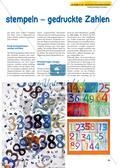 Schneiden, spritzen, stempeln – gedruckte Zahlen Preview 2
