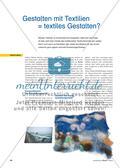 Gestalten mit Textilien = textiles Gestalten? Preview 1