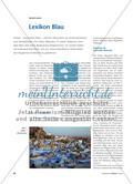 Die Farbe Blau unter fachwissenschaftlichen Aspekten Preview 1