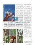 Skizzieren und Zeichnen von Herbstbäumen im Wind Preview 3