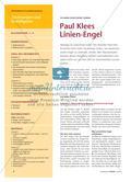 Paul Klees Linien-Engel: Zwei Varianten für den Einsatz im Unterricht Preview 1