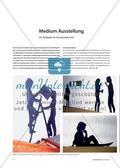 Medium Ausstellung - als Aufgabe im Kunstunterricht Preview 1