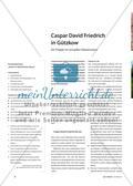 Caspar David Friedrich in Gützkow - Ein Projekt im virtuellen Klassenraum Preview 1