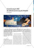 Inszenierung im Bild als Selbstinszenierung des Modells - Eine Facharbeit Preview 1