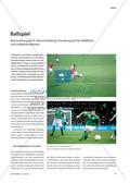 Ballspiel - Raumwirkung durch Überschneidung, Anordnung auf der Bildfläche und Größenverhältnisse Preview 1