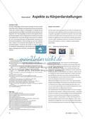 Materialteil: Aspekte zu Körperdarstellungen und -inszenierungen Preview 1