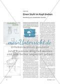 Einen Stuhl im Kopf drehen - Basisübung zum verstehenden Zeichnen Preview 1