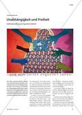 Unabhängigkeit und Freiheit - Selbstdarstellung als figurative Malerei Preview 1