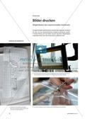 Bilder drucken - Möglichkeiten des experimentellen Siebdrucks Preview 1