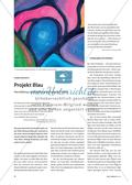 Projekt Blau - Herstellung von Farbe für ästhetische Praxis Preview 1